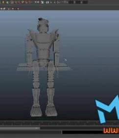 科幻机器人maya建模视频教程免费下载!Modeling Class in Maya Making Your Own Robot